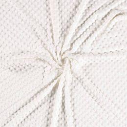 Premium Dimple Fleece | Cream