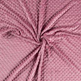 Premium Dimple Fleece | Dark Pink