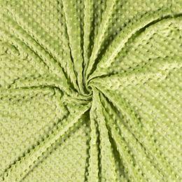 Premium Dimple Fleece   Lime