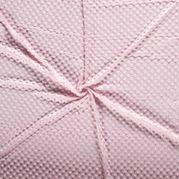 Premium Dimple Fleece | Pale Pink