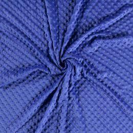 Premium Dimple Fleece   Royal Blue
