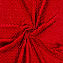 Premium Dimple Fleece | Red