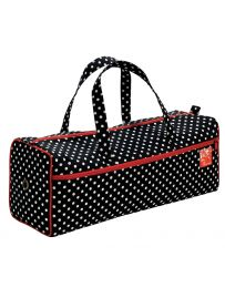 Needlework Knitting Bag, Black Polka | Prym