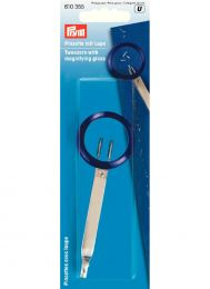 Tweezers With Magnifying Glass | Prym