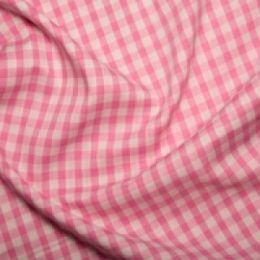 Quarter Inch Gingham Check | Pink