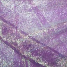 Rainbow Organza Fabric | Purple