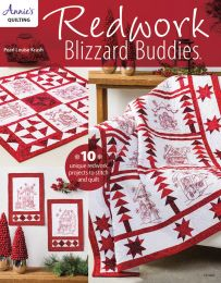 Redwork Blizzard Buddies - Classic Embroidery & Quilting