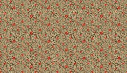 Riviera Rose Fabric | Mosaic Tan