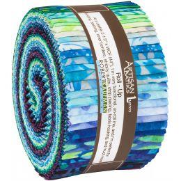 Robert Kaufman Fabric Roll Up | Aviva Blue