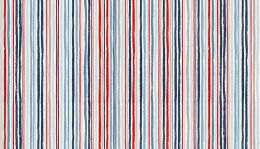Sail Away Fabric | Chalk Stripe Blue
