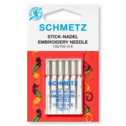 Schmetz Embroidery Machine Needles | Sizes 75 - 90