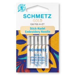 Schmetz Gold / Titanium Machine Needles