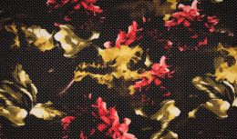 Scuba Fabric Punch | Abstract Floral