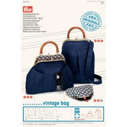 Sewing Pattern & DVD | Bag Bottom | Kylie Vintage Bag