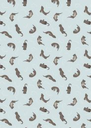Small Things Country Creatures | Otter Light Blue