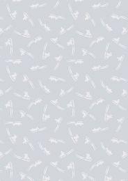 Snow Day Fabric | Sleigh Ride Silver