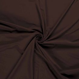 Soft Shell Fleece Fabric Plain | Dark Brown