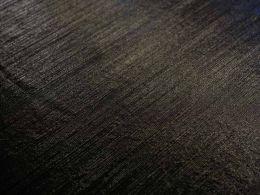 Stretch Metallic Fabric | Black