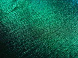 Stretch Metallic Fabric | Green