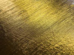 Stretch Metallic Fabric | Gold