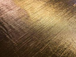 Stretch Metallic Fabric | Light Gold