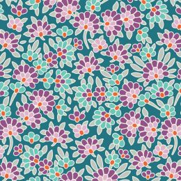 Lazy Days Tilda Fabric | Josephine Emerald