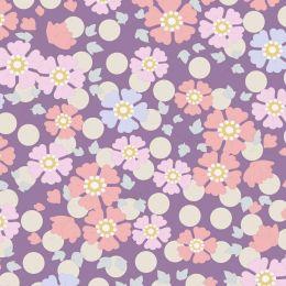 Plum Garden Tilda Fabric | Windflower Lavender