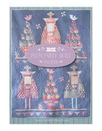 Tilda Plum Garden Quilt Pattern | Plum Party!