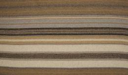 Wool Peru Fabric   Stripe Latte