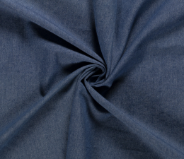 6oz Premium Washed Denim | Mid Blue