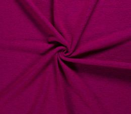 Boiled Wool & Poly Fabric Premium | Fuchsia