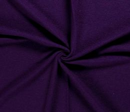 Boiled Wool & Poly Fabric Premium | Rich Purple