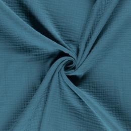 Triple Gauze Fabric | Plain Petrel