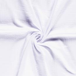 Triple Gauze Fabric | Plain Optical White