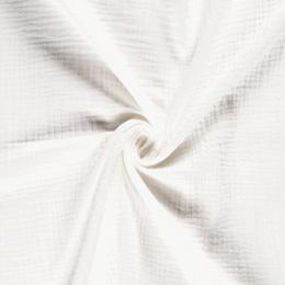 Triple Gauze Fabric | Plain Off White