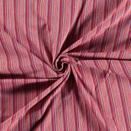 Aztec Jacquard Stripe Fabric   On Fire