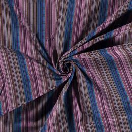 Aztec Jacquard Stripe Fabric | Stormy Skies