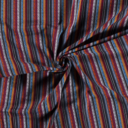 Aztec Jacquard Stripe Fabric | Diamond Jewl