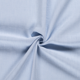 Bio Washed Linen Touch Fabric | Pale Blue