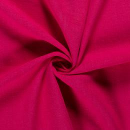Bio Washed Linen Touch Fabric | Fuchsia