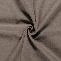 Bio Washed Linen Touch Fabric | Khaki Green