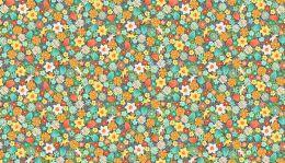 Spring Fabric Makower   Wavy Stripe