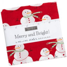 Merry And Bright Fabric   Charming Squares