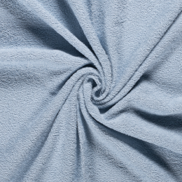 Terry Towelling Fabric | Light Blue