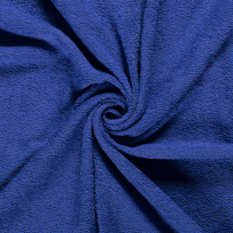 Terry Towelling Fabric | Cobalt