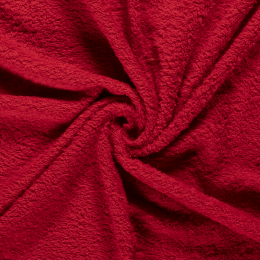Terry Towelling Fabric | Red