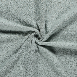 Terry Towelling Fabric | Light Green