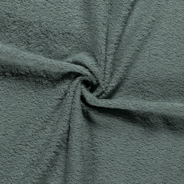 Terry Towelling Fabric | Mid Green
