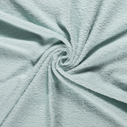 Terry Towelling Fabric | Mint