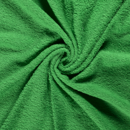 Terry Towelling Fabric | Green